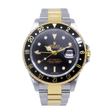 Rolex GMT Master II Steel & Yellow Gold